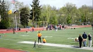 NCAA Division III SUNY Cobleskill at University of Rochester 4x100M Relay