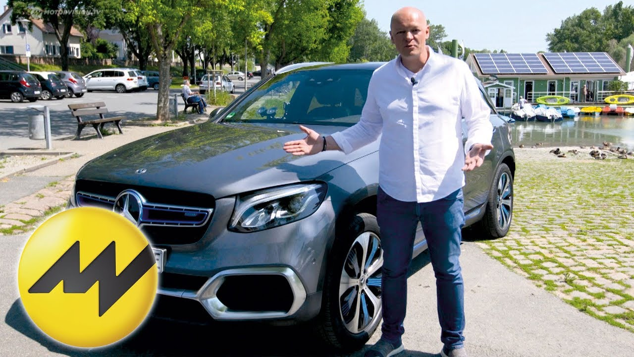 Mercedes-Benz GLC F-Cell - Wasserstoff-Plug-In-Hybrid