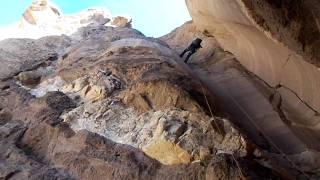Sandstone chute, Devil
