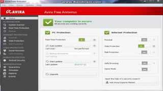 Demonstracja 3 najlepszych darmowych antywirusów #2 Avira Free Antivirus 2013