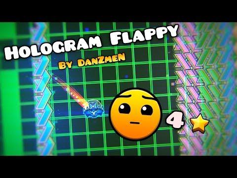 (75hz) - {Hardest Hard 19/25} Hologram Flappy By Softblade 100% [Geometry Dash 2.1]