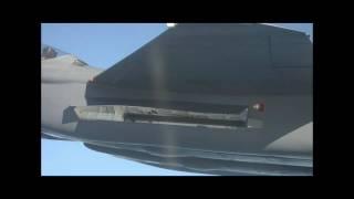 Boeing F-15SE Silent Eagle missile launch