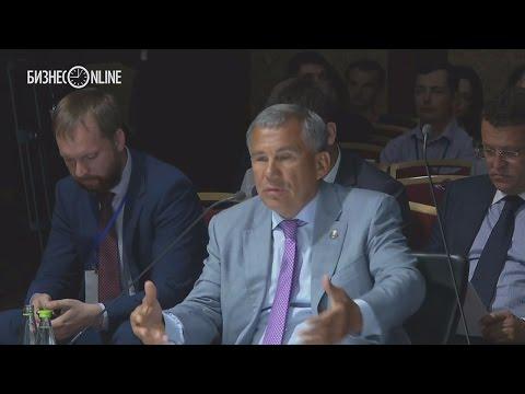 """видео: Рустам Минниханов о лицензии на навоз: """"Какие глупости!"""""""