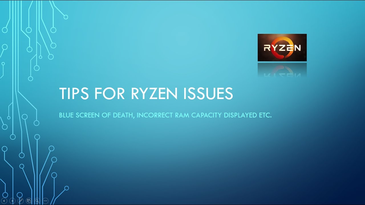 Tips to avoiding AMD Ryzen Issues like frequent BSOD on Windows 10