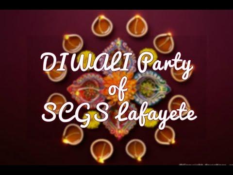 Diwali celebration 2017 of South Central Gujarati Samaj Of Lafayette, LA