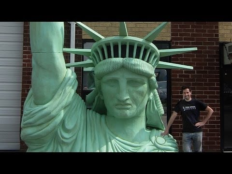 Who was the sculptor of the Statue of Liberty?