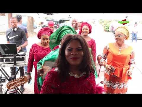 LAGOS LADIES: surprise Mrs Aramide Akinlade 60th birthday