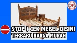 Tempat Tidur Jati Ukir Rahwana Jepara Terbaru Harga Murah