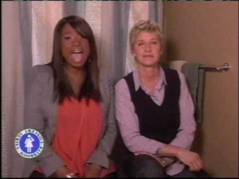 Ellen's Bathroom Concert Series: Jennifer Hudson