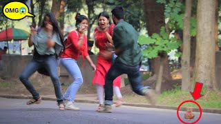 Scary TikTok Prank on Cute Girls 😲😲 Best Tik Tok Prank   PrankBuzz   Pranks in Kolkata