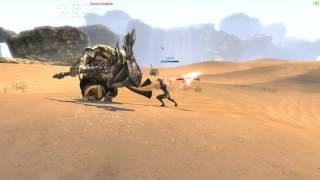 Blade and Soul NA CBT1 - Destroyer ani-cancel Ping 150ms