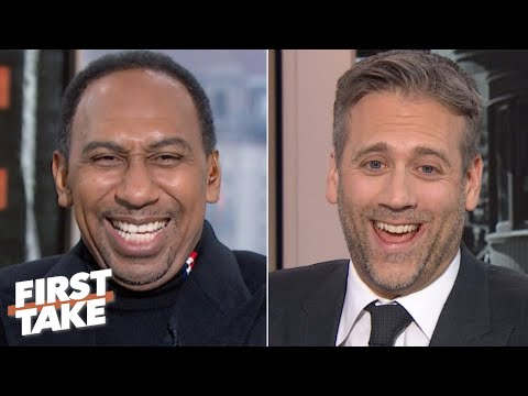 Stephen A. can't contain his laughter while giving Cowboys credit | First Take