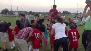 Celebrating, Houston Express Valencia 08, Copa Alianza 2013