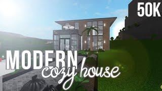 ROBLOX | Bloxburg: Cozy Modern House 50k