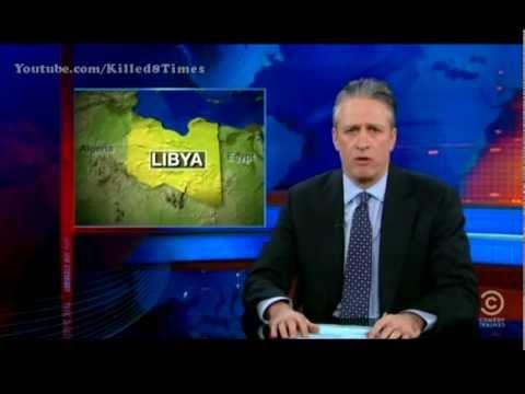 Jon Stewart's take on LIBYA - THE DAILY SHOW