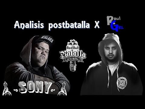 Papo VS Sony (RBBDLG Final Argentina 2016) - Analisis post batalla