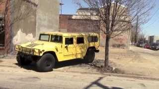 Driving a Huge Hummer in a Big City
