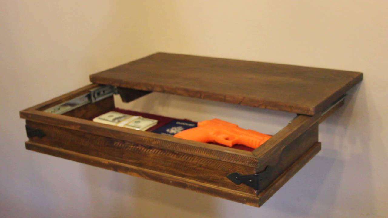 How To Build A Secret Compartment In Your Wall
