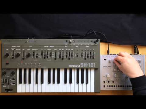 Acidlab Drumatix Roland SH 101 - How to start an electronic song