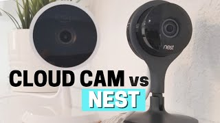 Comparing Nest Cam vs Amazon Cloud Cam Side by Side