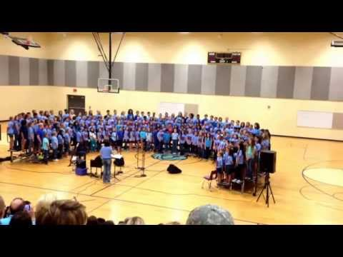 Ruth Hale Barker Middle School Choir Concert - Phillip Phillips Home.