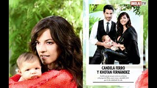 Candela Ferro presenta a Oleta, su primera hija con Khotan Fernández   La Hora ¡HOLA!