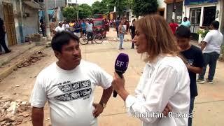 'En EF y por Adela' presenta Juchitán después del sismo.