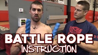 Battle Rope Training Exercises and Workouts for Strength & Conditioning