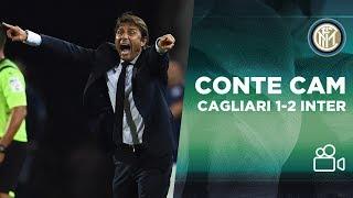 CONTE CAM | CAGLIARI 1-2 INTER 🎥⚫🔵