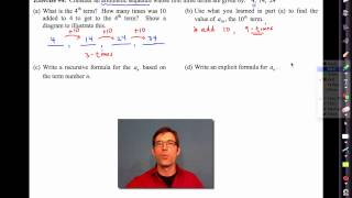 Common Core Algebra I.unit #4.lesson #13.arithmetic Sequences By Emathinstruction