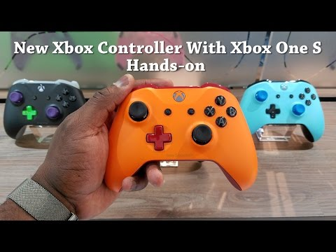 New Xbox One Controller & Xbox One S Hands-on [E3 2016]