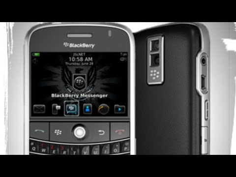 BlackBerry Bold 9000 disassembly