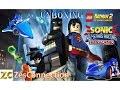 Unboxings Sonic & All-Stars Racing Transformed + Lego Batman 2 DC Super Heroes - PS Vita