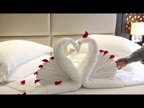 Romantic Room Set Up at The Ajman Palace Hotel