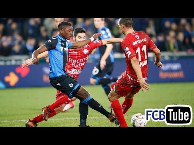 2017-2018 - Jupiler Pro League - 16. Club Brugge - Zulte Waregem 3-2