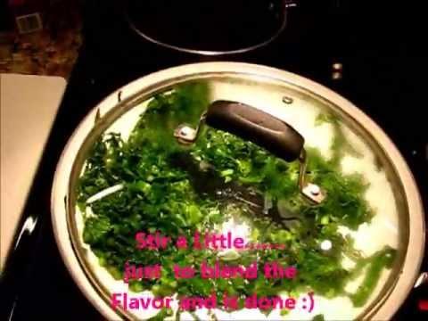 Kale Green - Brazilian Style Couve Refogada