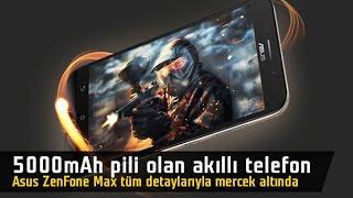 5000 mAh pili olan telefon mercek altında: Asus ZenFone Max incelemesi