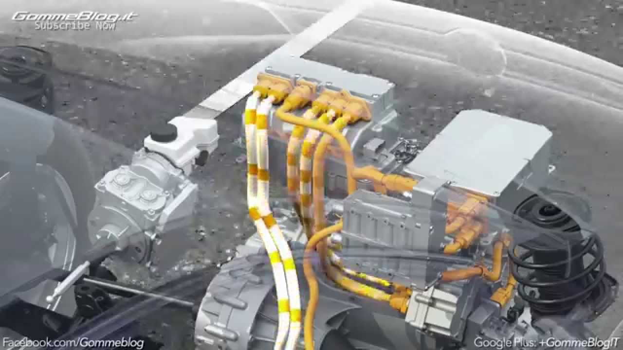 Volkswagen Electric Mobility: Animation Electric Drives - YouTube for Electric Car Motor Animation  569ane