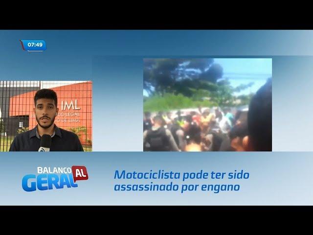 Motociclista pode ter sido assassinado por engano