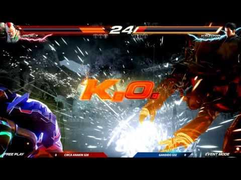 CEO 2016: Tekken 7 FR: Auction Tournament: Circa Anakin vs Gandido