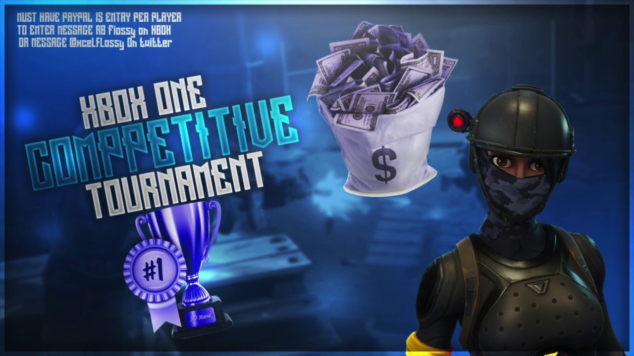 fortnite xbox one competitive tournament how to enter