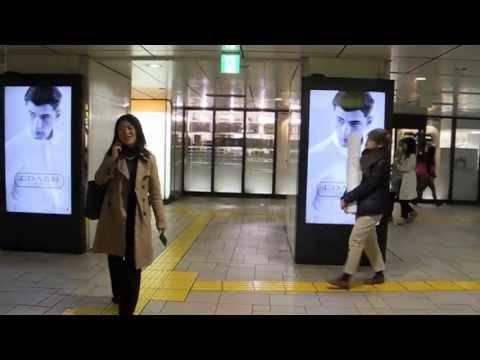 表参道駅メトロコンコースビジョン