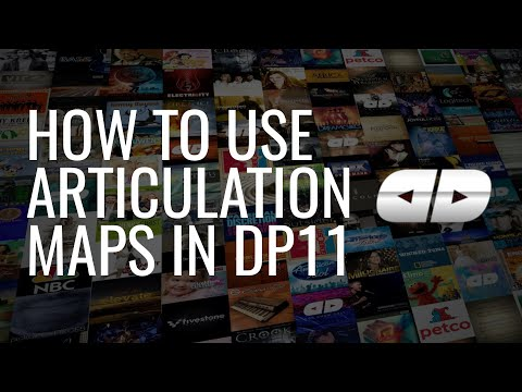Articulation Maps in DP11 with Spitfire's BBCSO Discover Edition