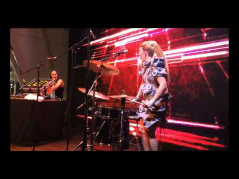 LIZZY - Live Drums @ Expo Milano 2015