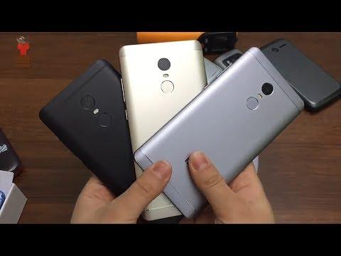 Сравнение Xiaomi Redmi Note 4 и Redmi Note 4X