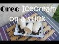 Oreo Ice cream on a stick   Ice cream Drop   no ice cream machine recipe   no ice cream maker