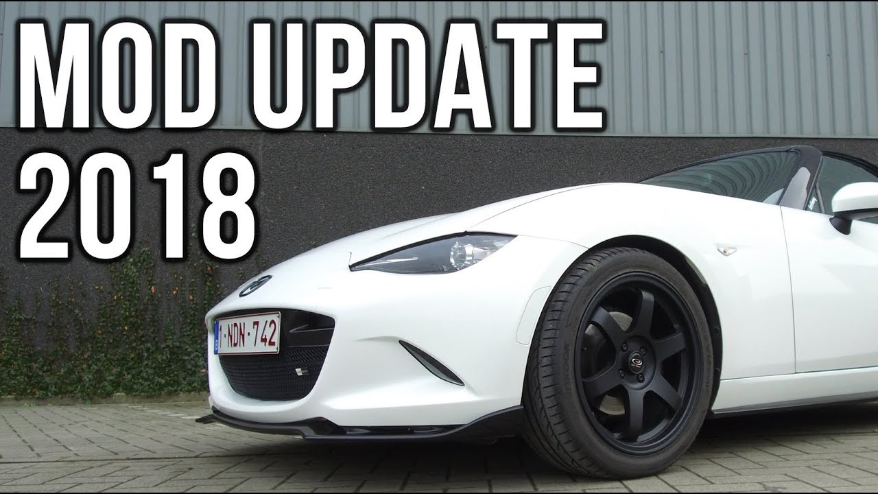 Mod list update 2018 - Miata In Action - Episode 1