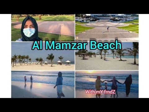 Dubai Al Mamzar Beach park || vlog#2 ||Dubai mamzar beach||private beach||
