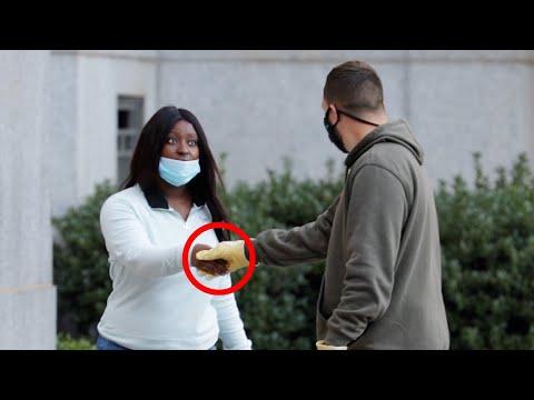 Giving People $100 Handshakes..
