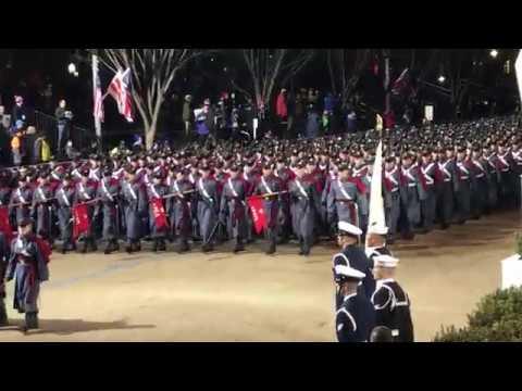 VMI Corps of Cadets - Inaugural Parade January 20, 2017